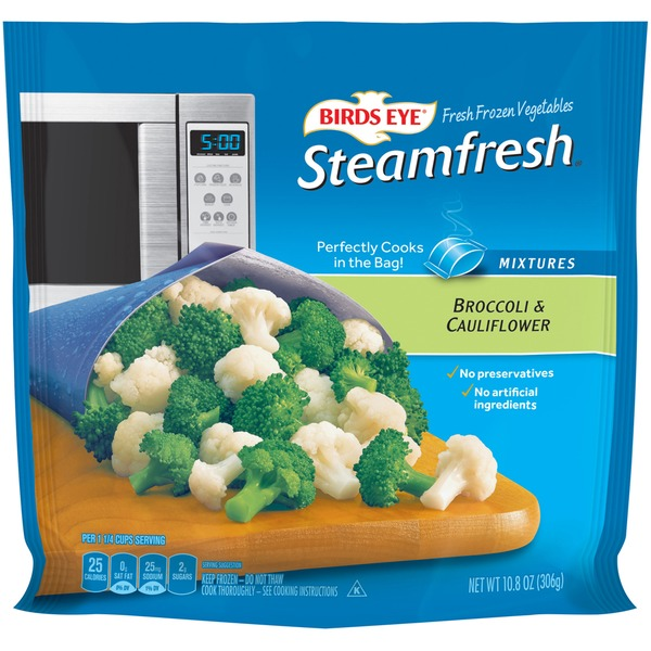 Steamfresh Mixtures Broccoli & Cauliflower