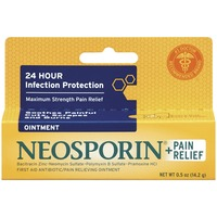 Neosporin® Neosporin + Pain Relief Ointment Plus Pain Relief