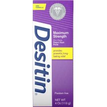 Desitin Maximum Strength Original Diaper Rash Paste, 4 oz.