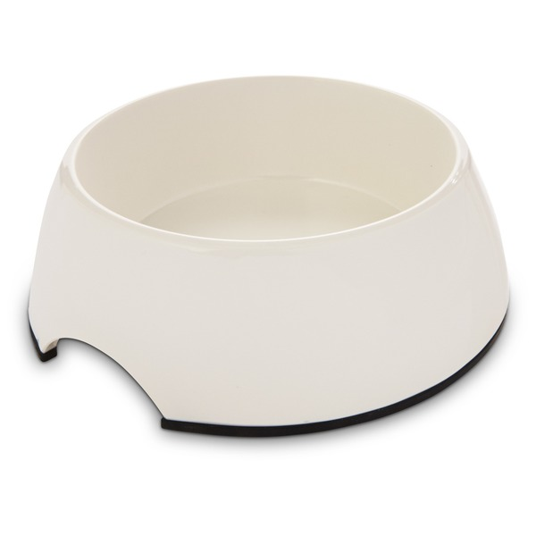 Bowlmates By Petco Small White Round Base Bowl
