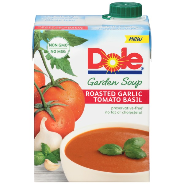 Dole Roasted Garlic Tomato Basil Garden Soup