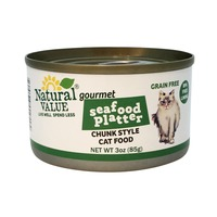 Natural Value Seafood Platter Chunk Style Cat Food