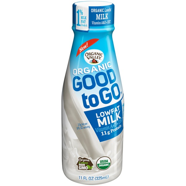 Organic Valley Organic Good to Go Lowfat Milk