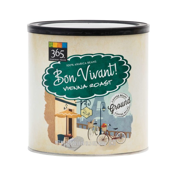 365 Bon Vivant Vienna Roast Ground Coffee