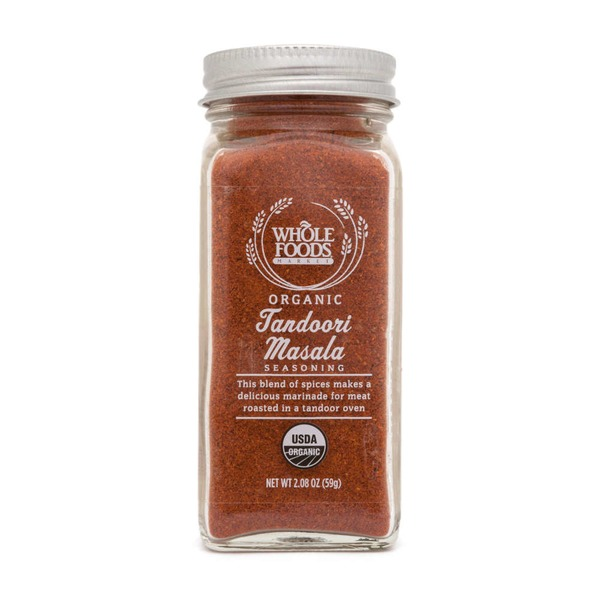 Whole Foods Market Organic Tandoori Masala Seasoning