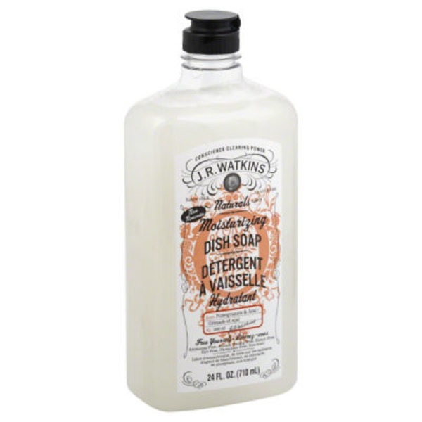 JR Watkins Moisturizing Pomegranate & Acai Scent Dish Soap,