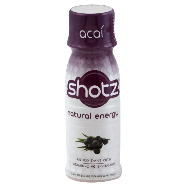 Shotz Vitamin Supplement, Acai