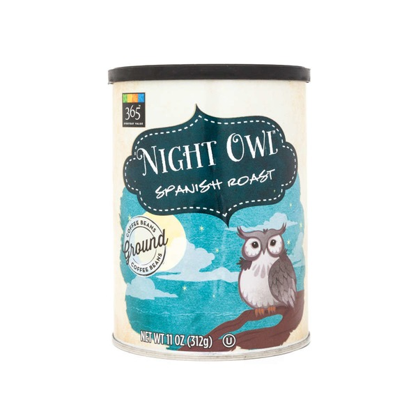 365 Night Owl Spanish Roast Ground Coffee