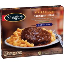STOUFFER'S Satisfying Servings Salisbury Steak 16 oz Box