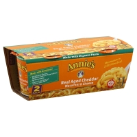 Annies Homegrown Macaroni & Cheese Cheddar Micro Cup - 2