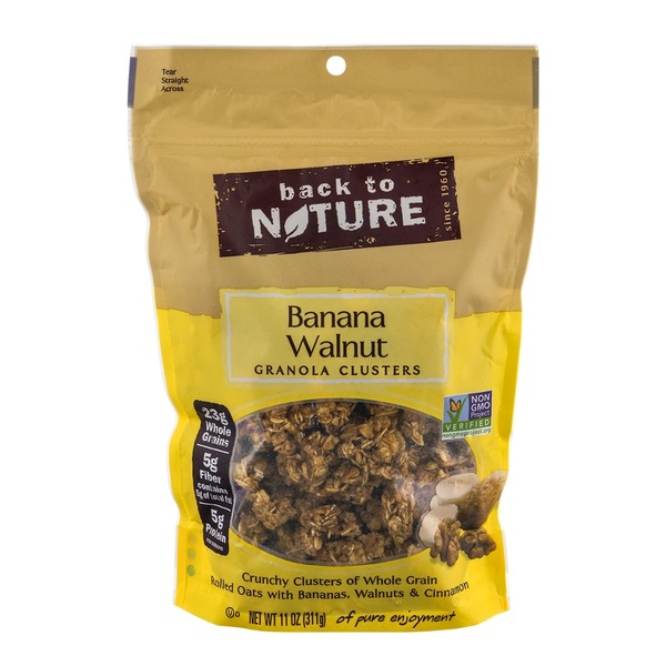 Back to Nature Banana Walnut Clusters