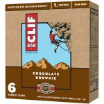 Clif Bar, 9 Grams of Protein, Chocolate Brownie, 2.4 Oz, 4 Ct