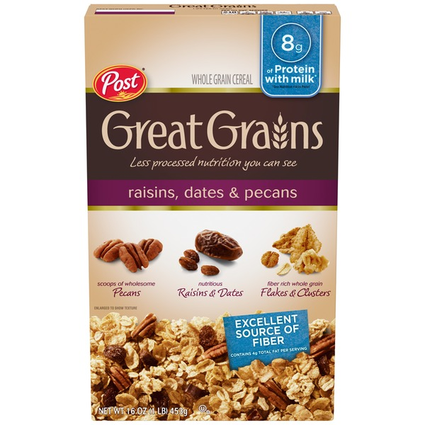 Post Great Grains Raisins Dates & Pecans Cereal