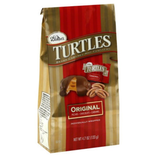 Turtles Original Turtle Caramel Candy