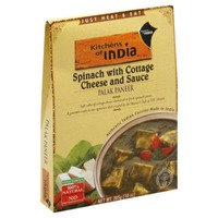 Kitchens of India Spinach with Cottage Cheese and Sauce