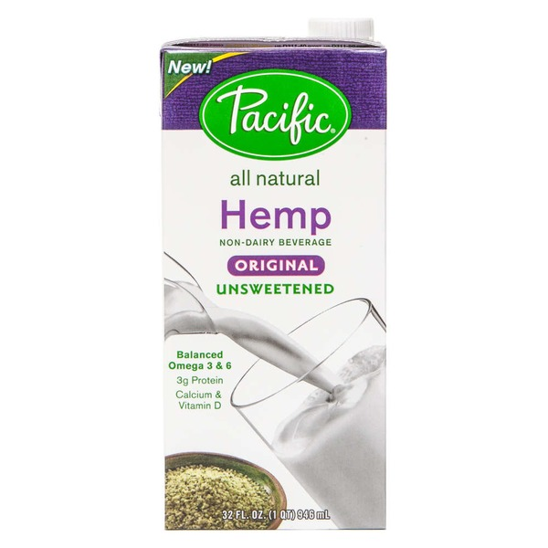 Pacific Hemp Original Unsweetened Non-Dairy Beverage