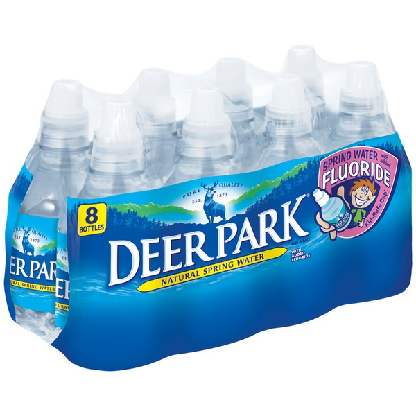 Deer Park With Added Fluoride Natural Spring Water