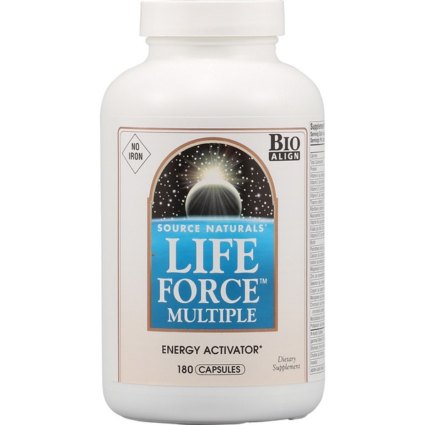 Source Naturals Life Force No Iron