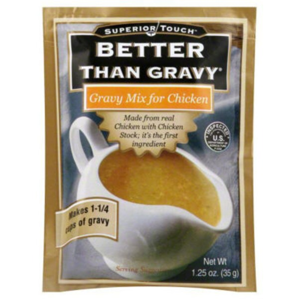 Better Than Gravy Gravy Mix Flavored with Chicken