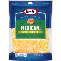 Mexican Style Four Cheese Finely Shredded Shredded Cheese