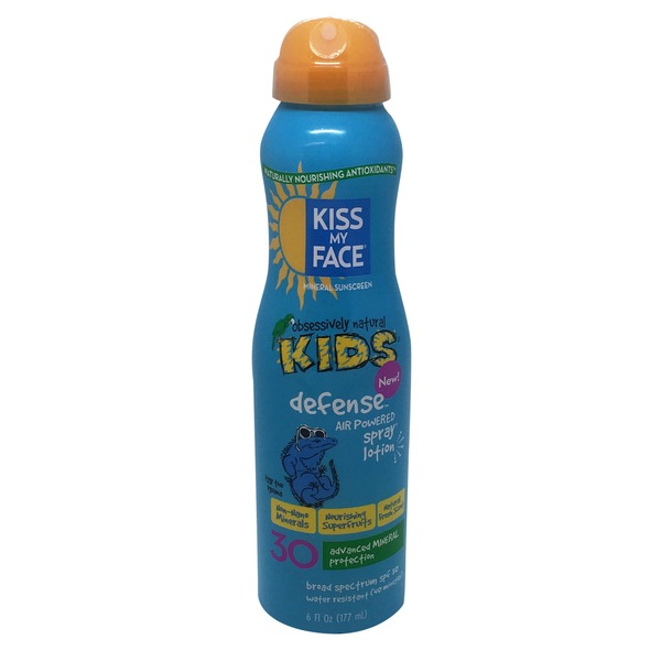 Kiss My Face Kids Defense Mineral Sunscreen SPF 30
