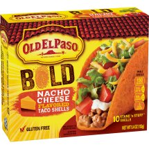Old El Paso Stand 'N Stuff Bold Nacho Cheese Flavored Shells, 5.4 oz, 5.4 OZ