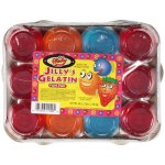 Jilly's Gelatin Fun Pak: Blueberry, Orange & Strawberry, 12 ct, 48 oz