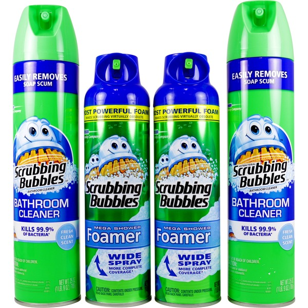 Scrubbing Bubbles Bathroom Combo Pack