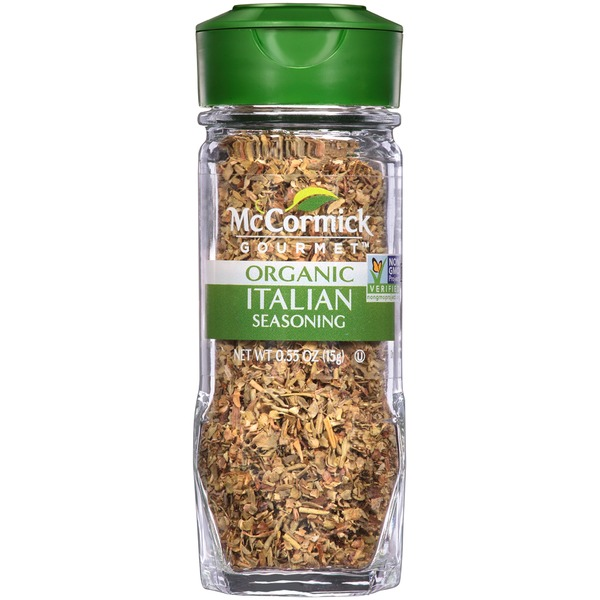 McCormick Gourmet Collection Organic Italian Seasoning