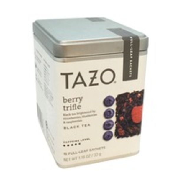 Tazo Tea Berry Trifle Black Tea, Full Leaf