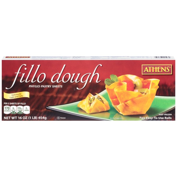 Athens Phyllo Pastry Sheets Fillo Dough