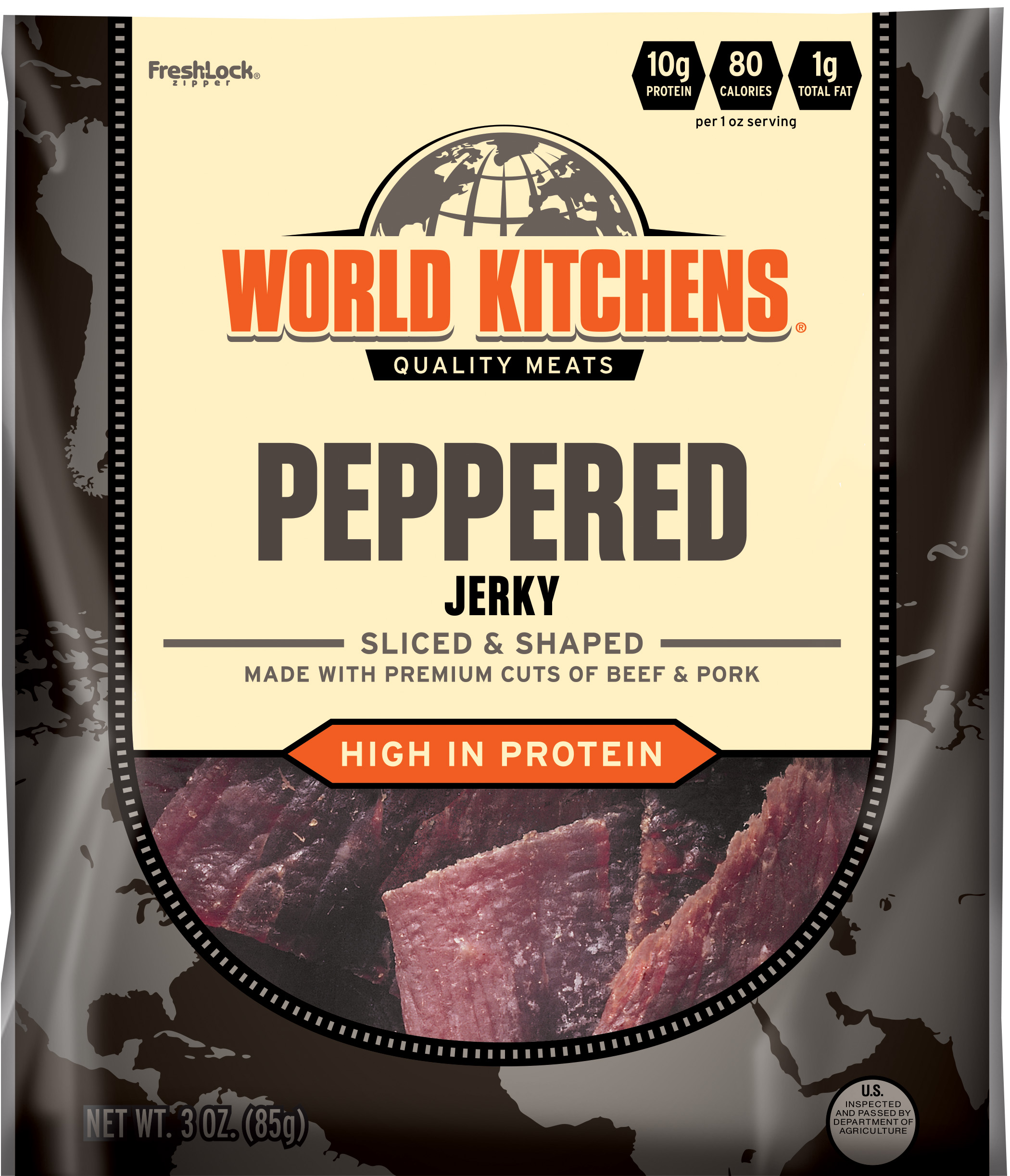 World Kitchens Peppered Jerky