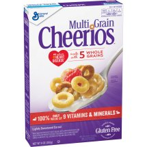 Multi Grain Cheerios Gluten Free Breakfast Cereal, 9 oz, 9.0 OZ