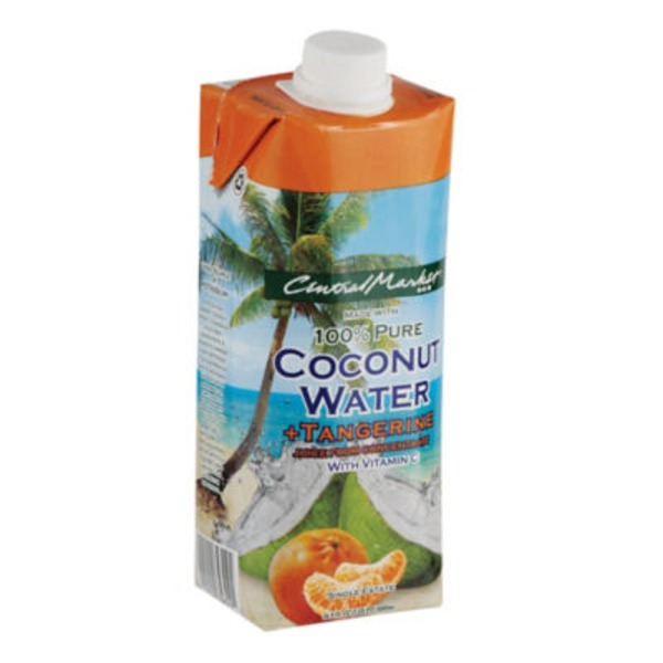 Central Market Tangerine Coconut Water