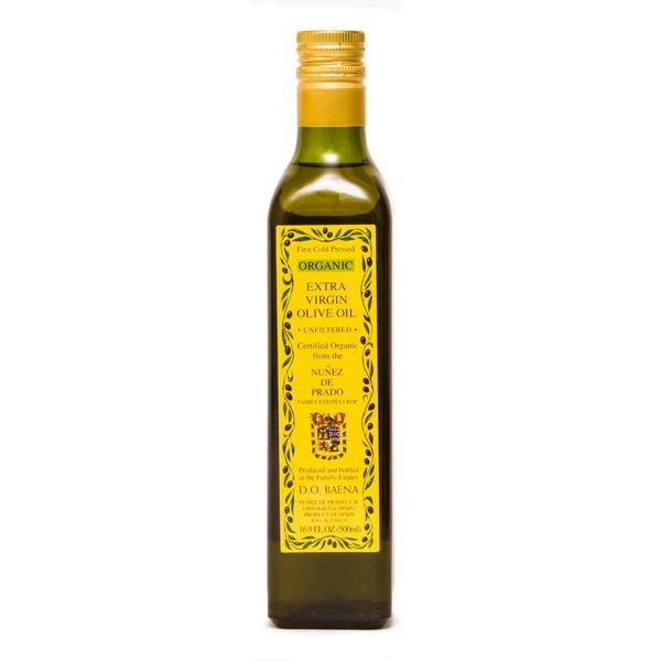 Nunez De Prado Organic Cold Pressed Extra Virgin Olive Oil