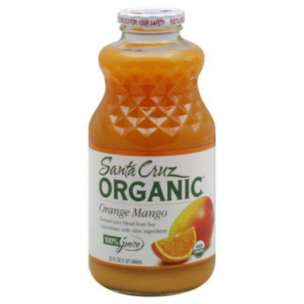 Santa Cruz Organics 100% Juice Orange Mango
