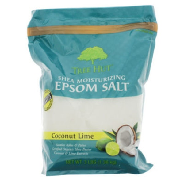 Tree Hut Shea Moisturizing Epsom Salt, Coconut Lime