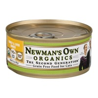 Newman's Own Grain Free Food for Cats Turkey & Liver Dinner