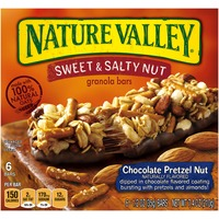 Nature Valley Sweet & Salty Nut Chocolate Pretzel Nut Granola Bars
