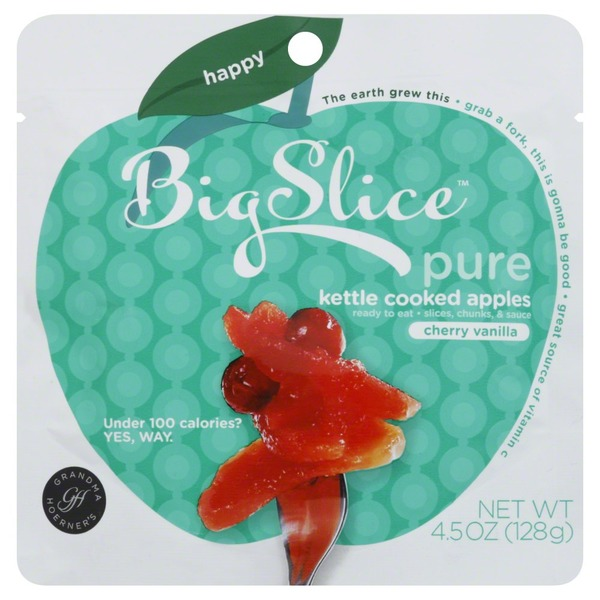 Big Slice Cherry Vanilla Kettle Cooked Apples Fruit Pouch