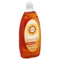Signature Home Anti Bacterial Orange Liquid Dish Detergent Soap