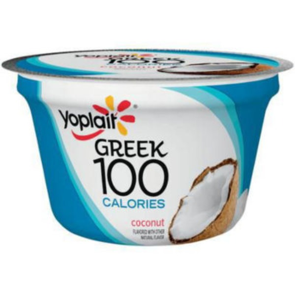 Yoplait Greek 100 Calories Coconut Fat Free Yogurt