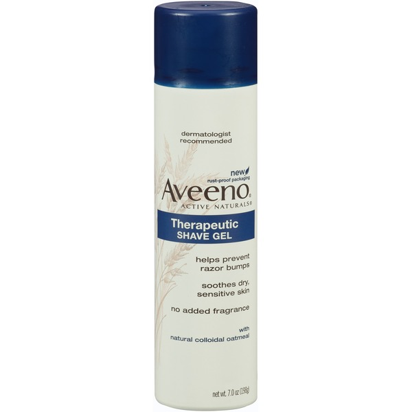 Aveeno® Therapeutic Shave Gel SHAVE GELS