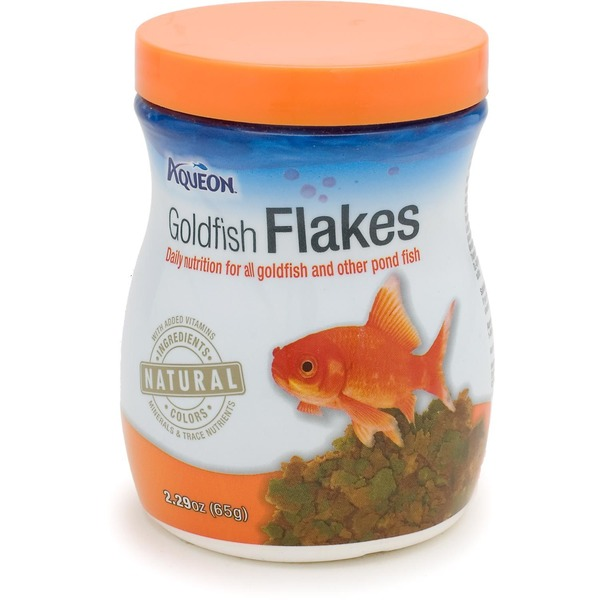 Aqueon Goldfish Flakes Daily Nutrition For All Goldfish & Other Pond Fish