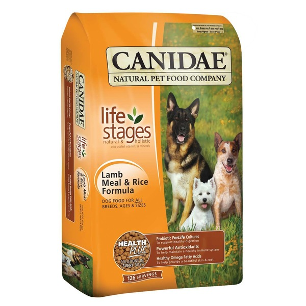 Canidae Life Stages Lamb Meal & Rice Formula Dog Food for All Breeds, Ages & Sizes