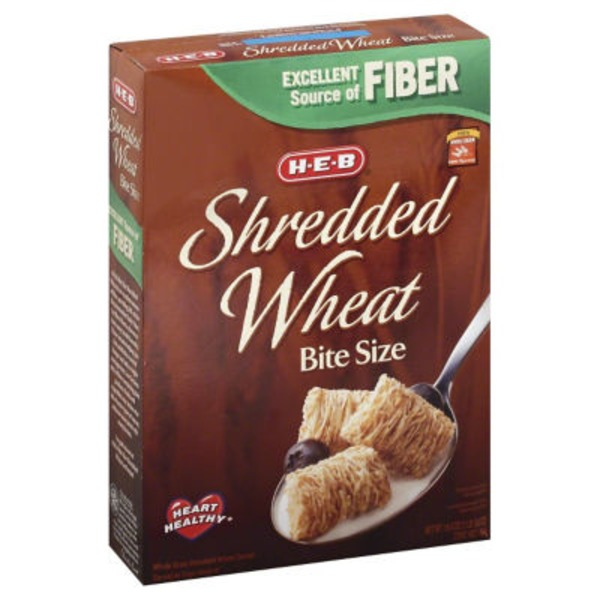 H-E-B Shredded Wheat Bite Size Cereal