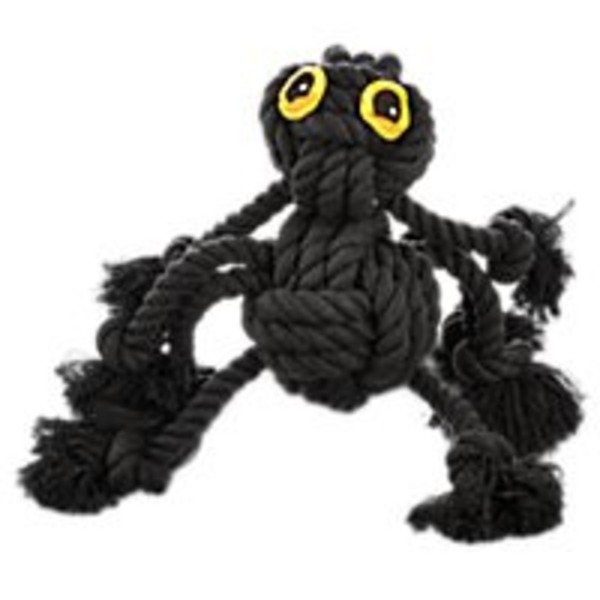 Petco Medium Halloween All Rope Spider Dog Toy