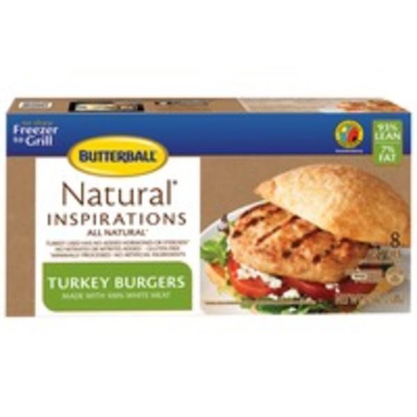 Butterball Natural Inspirations All Natural Turkey Burgers