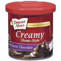 Duncan Hines Classic Chocolate Creamy Home-Style Frosting