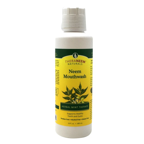 Organix Theraneem Neem Mouthwash - Herbal Mint